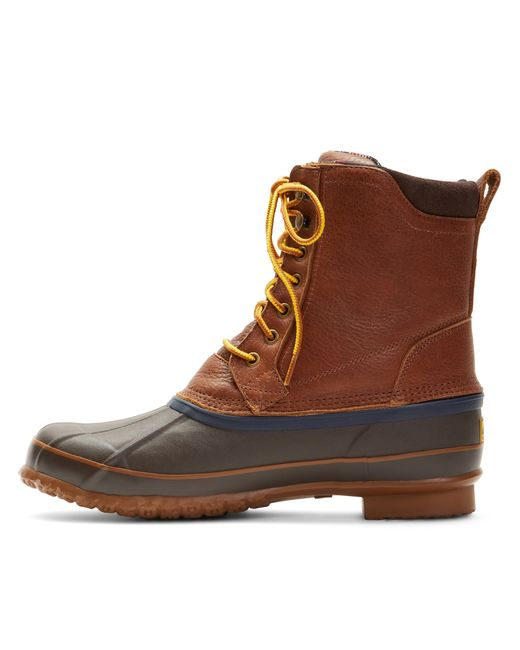 Brooks Brothers Duck Boots In Brown For Men Save 26 Lyst