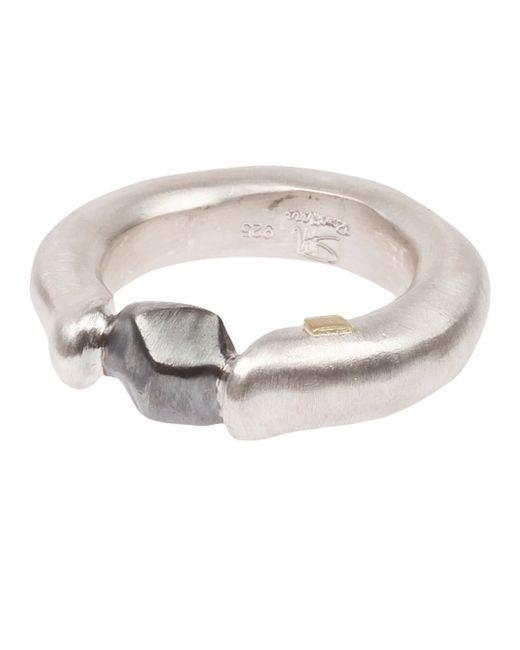Rosa Maria | Metallic 'pillar' Ring for Men | Lyst