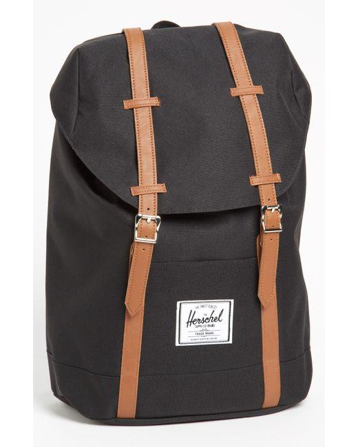 Herschel Supply Co. | Black 'retreat' Backpack for Men | Lyst