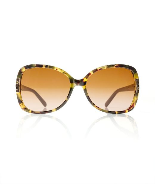 Tory Burch | Natural Oversized T-hinge Sunglasses | Lyst