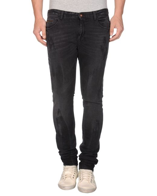 CoSTUME NATIONAL | Black Denim Pants for Men | Lyst