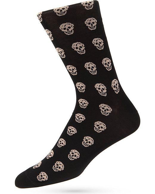 Alexander McQueen | White Socks Short Skull for Men | Lyst