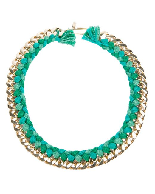 Aurelie Bidermann | Green 'do Brasil' Necklace | Lyst