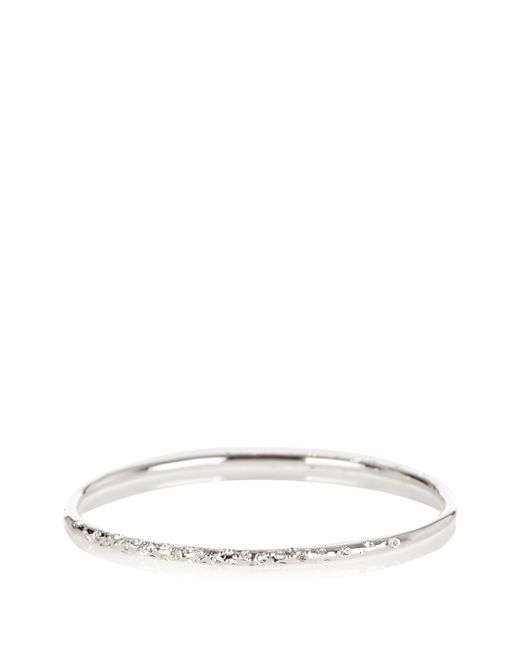 Karen Millen | Metallic Swarovski Crystal Sprinkle Bangle | Lyst