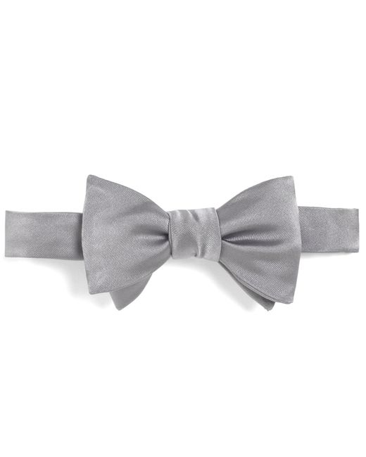 Brooks Brothers | Gray Butterfly Self-tie Bow Tie for Men | Lyst