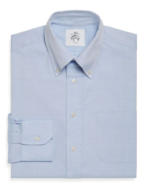 Brooks Brothers | Blue Button-down Shirt for Men | Lyst