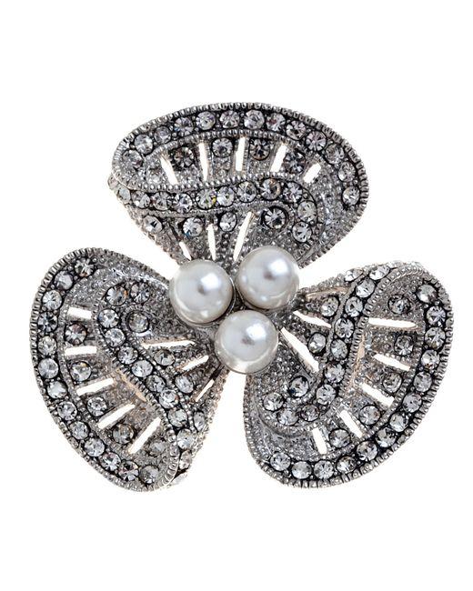 John Lewis | Metallic Lucky Charm Diamante Brooch | Lyst