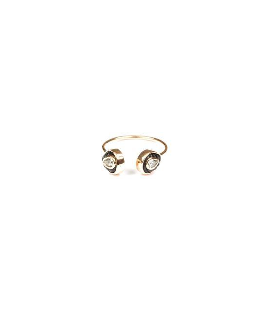 Dezso by Sara Beltran - Pink Chione Coral Petite Cuff Ring - Lyst