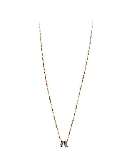 Dyrberg/Kern   Pink Dyrberg/kern Fermi Swarovski Crystal Double Band Pendant Necklace   Lyst