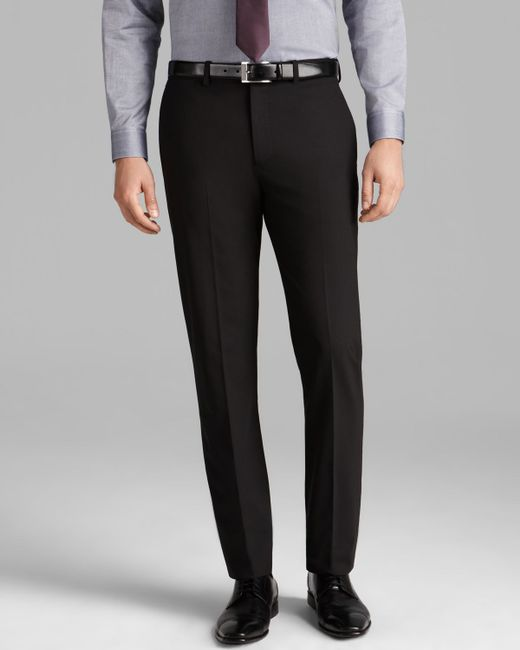 Theory   Black Jake New Tailor Trousers - Extra Slim Fit for Men   Lyst