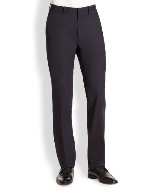 Theory | Black Marlo New Tailor Dress Pants for Men | Lyst