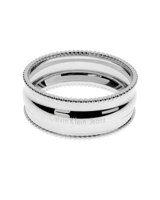 Calvin Klein Jeans | Metallic Bracelet | Lyst