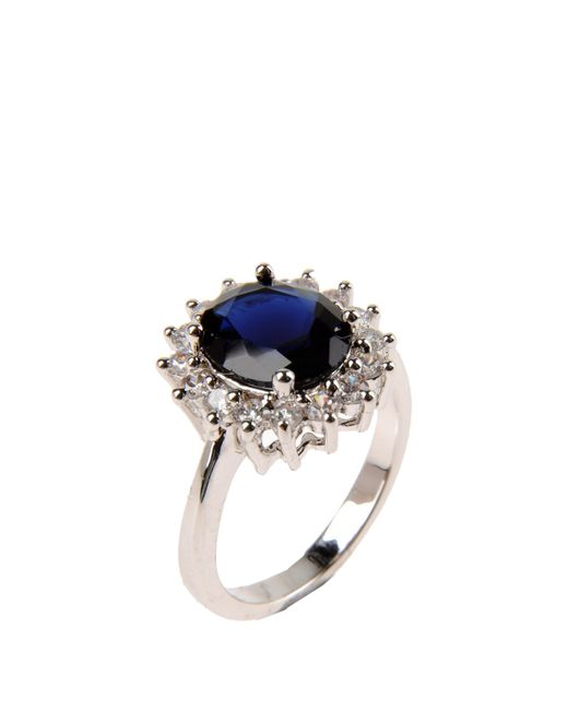 CZ by Kenneth Jay Lane | Metallic Ring | Lyst