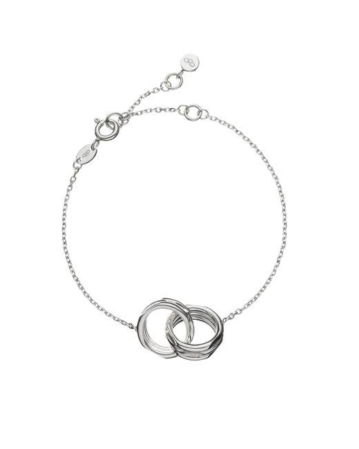Links of London | Metallic 20-20 Interlocking Bracelet | Lyst