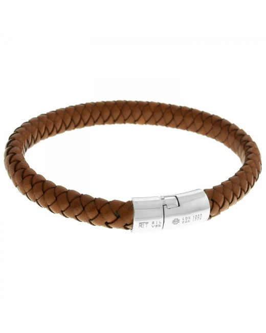 Tateossian | Brown Classic Cobra Bracelet for Men | Lyst