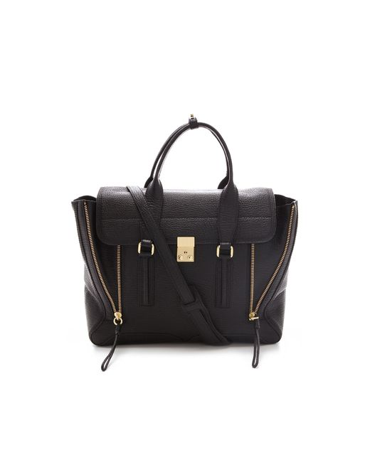 3.1 Phillip Lim | Black Pashli Medium Leather Tote | Lyst