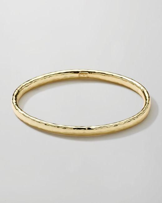 Ippolita   Metallic 18k Gold Glamazon #2 Bangle   Lyst