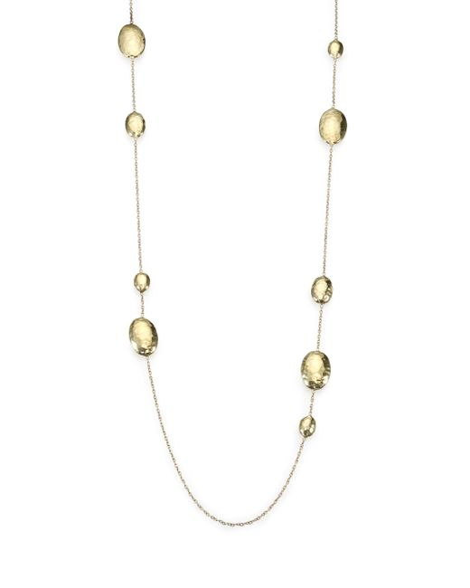 Ippolita | Metallic Glamazon 18k Yellow Gold Lollipop Station Necklace | Lyst