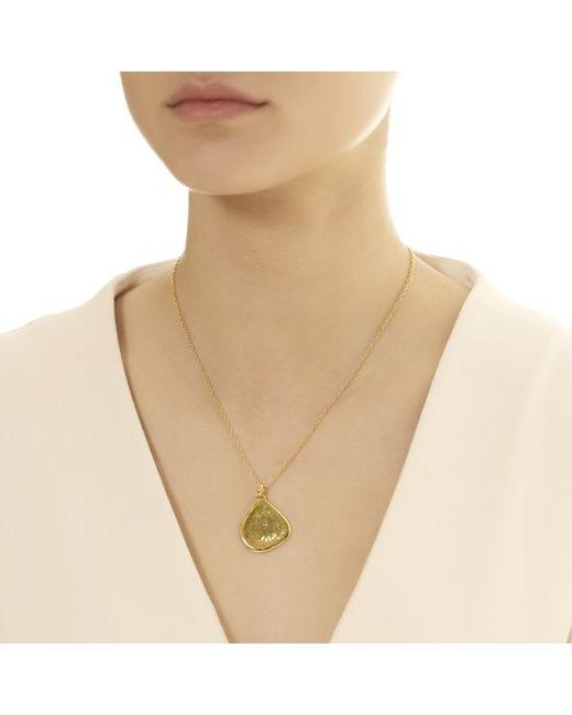 Monica Vinader | Metallic Large Siren Pendant | Lyst