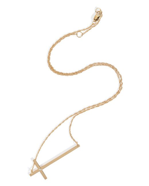 Jennifer Zeuner | Metallic Juliah Necklace in Yellow Vermeil | Lyst