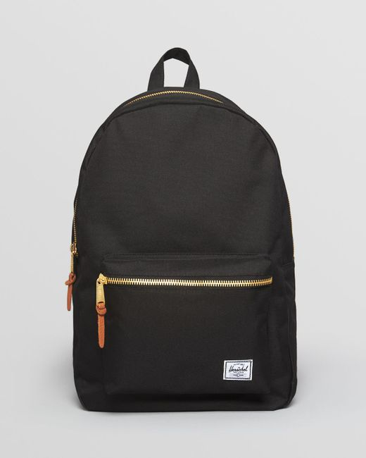 Herschel Supply Co Settlement Backpack: Herschel Supply Co. Settlement Backpack In Black For Men