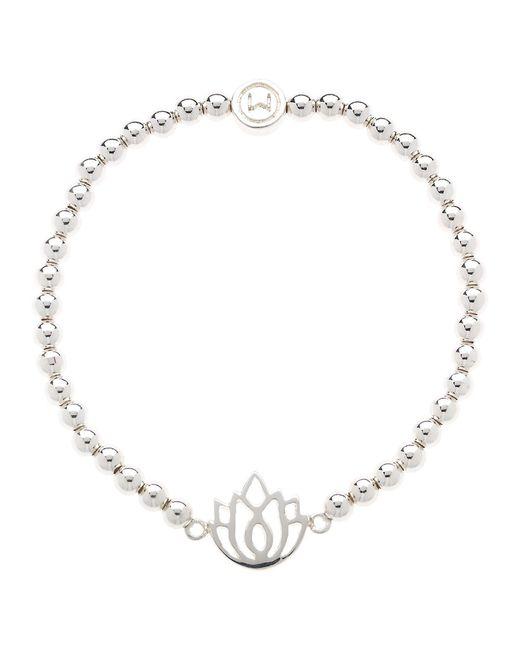 Melissa Odabash   Metallic Lotus Stretch Bracelet   Lyst