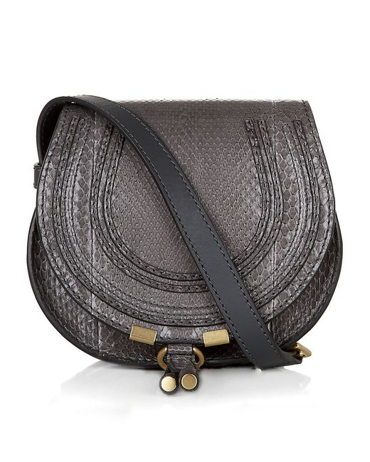 Chloé | Black Women's Marcie Small Crossbody | Lyst