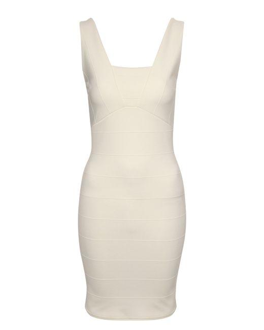 Jane Norman   White Peek A Boo Body Con Dress   Lyst