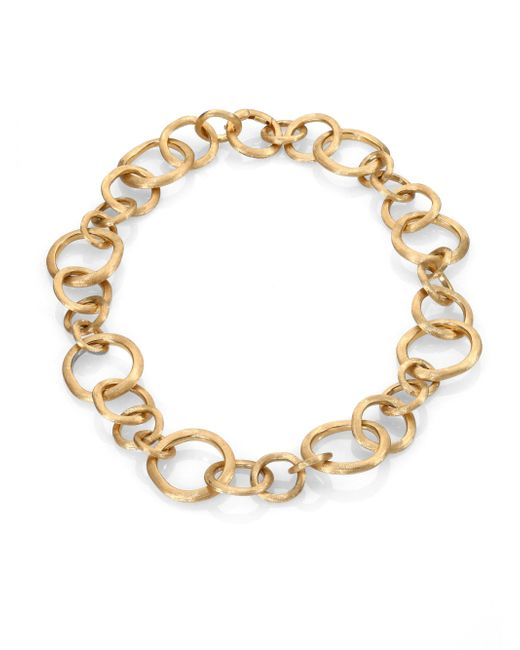 Marco Bicego | Metallic Jaipur Link 18k Yellow Gold Necklace | Lyst