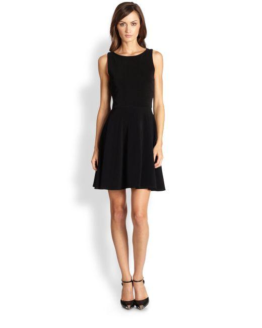 Alice + Olivia   Black Monah Aline Dress   Lyst