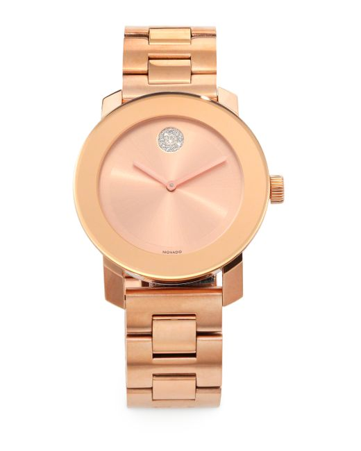 10 Kitchen And Home Decor Items Every 20 Something Needs: Movado Bold Rose Goldtone Ip Stainless Steel Bracelet