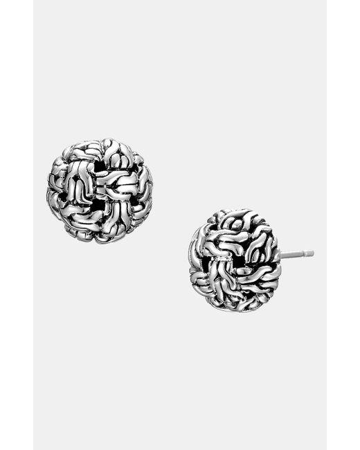 John Hardy | Metallic 'classic Chain' Stud Earrings | Lyst