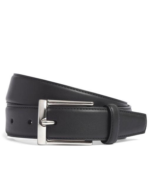 Brooks Brothers   Black Calfskin Dress Belt for Men   Lyst