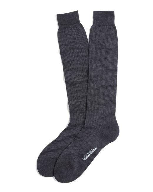 Brooks Brothers   Gray Merino Wool Mini Dot Over-the-calf Socks for Men   Lyst