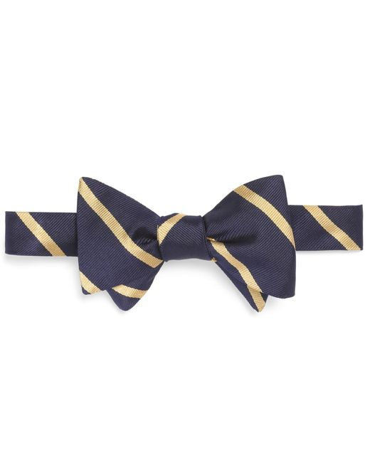 Brooks Brothers | Blue Bb#3 Repp Bow Tie for Men | Lyst