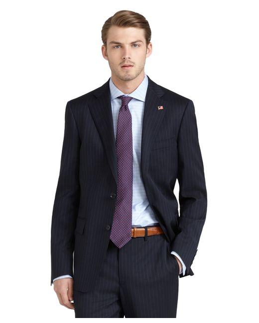 Brooks Brothers | Blue Regent Fit Stripe 1818 Suit for Men | Lyst