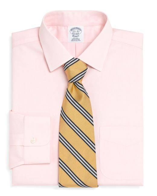 Brooks Brothers | Pink Non-iron Milano Fit Spread Collar Dress Shirt for Men | Lyst