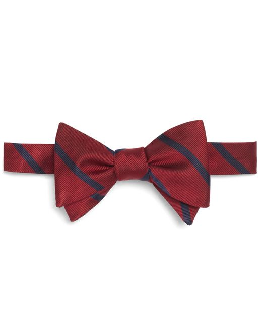 Brooks Brothers   Red Bb#3 Repp Bow Tie for Men   Lyst
