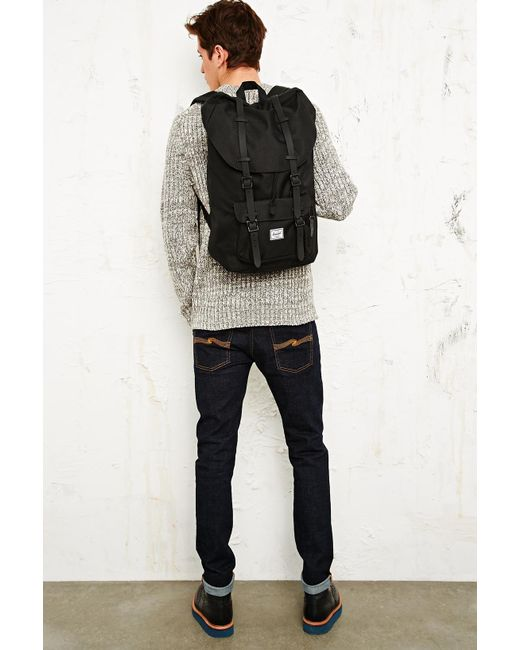 db5a01f997 Little America Laptop Backpack - Lyst Herschel Supply Co. - Black . Little  America Laptop Backpack - Lyst ...