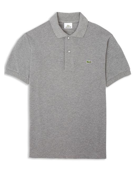 Lacoste | Gray L12.12. Polo for Men | Lyst