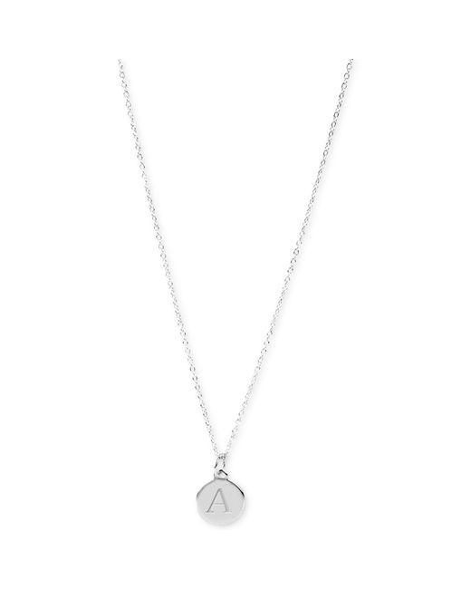 Robert Lee Morris | Metallic Silver-tone Hammered Disc Pendant Necklace | Lyst