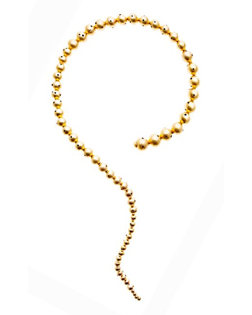 Paula Mendoza | Metallic Glaucus Beaded Necklace | Lyst
