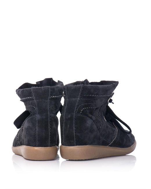 Isabel Marant | Blue Étoile 'bobby' Sneakers | Lyst