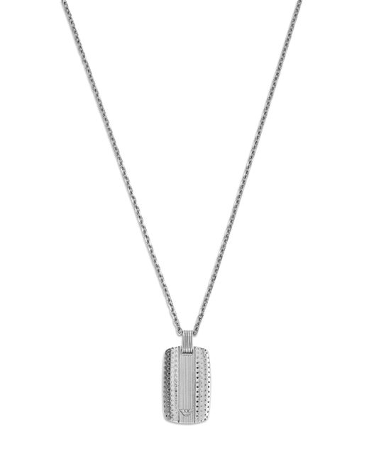 Emporio Armani | Metallic Gent Necklace for Men | Lyst