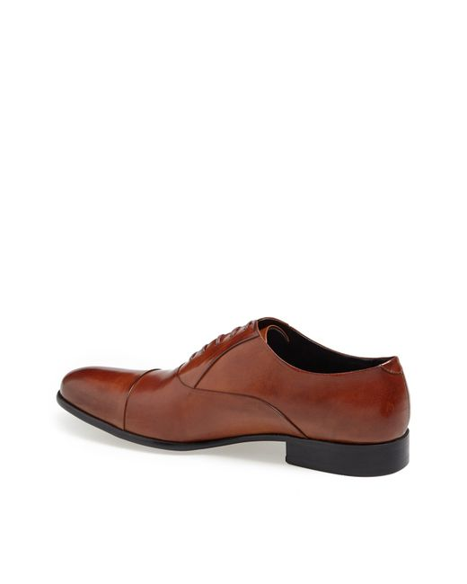Kenneth Cole | Brown 'chief Council' Cap Toe Oxford for Men | Lyst