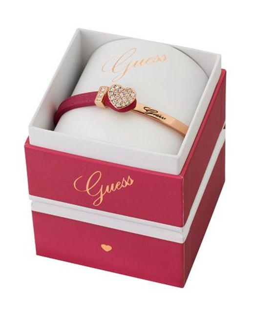 Guess | Pink Colour Chic Bracelet | Lyst