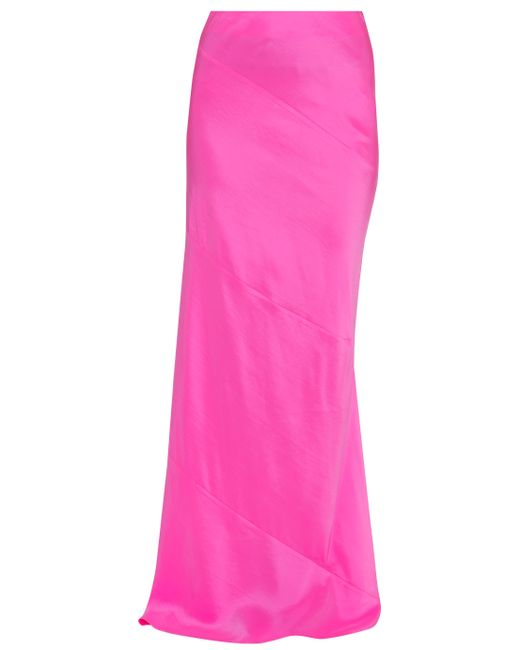 Preen By Thornton Bregazzi   Pink Lk18 Lara Long Skirt   Lyst