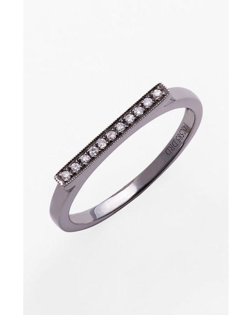 Dana Rebecca | Metallic Sylvie With Diamond Ring | Lyst