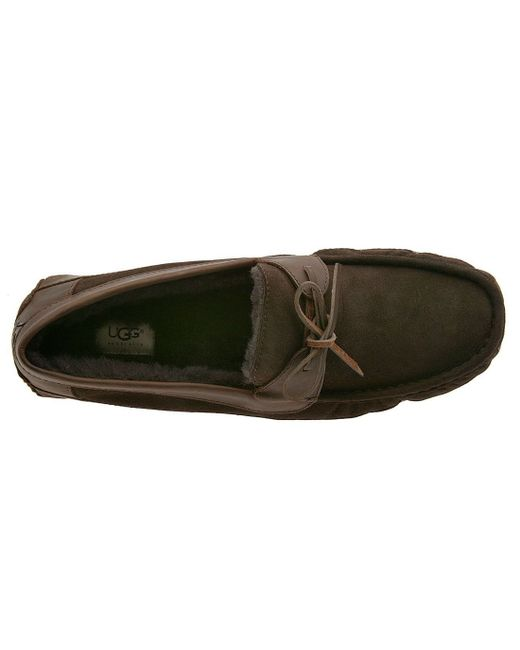 Ugg | Brown Ugg 'byron' Slipper for Men | Lyst