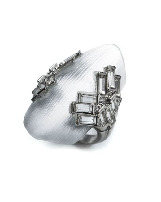 Alexis Bittar | Metallic Coral Deco Shield Ring You Might Also Like | Lyst